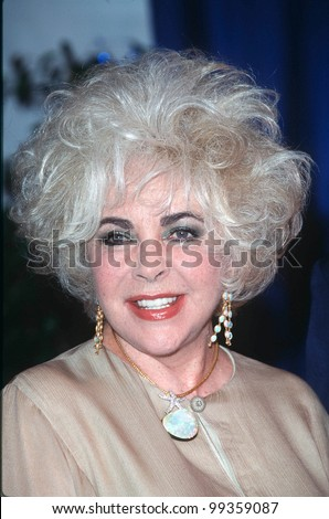 10JUL99: Actress ELIZABETH TAYLOR at a charity event in West Hollywood where she was presented with the Angel Award by Project Angel Food.  Paul Smith / Featureflash