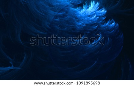 Stock Photo 4k 3D rendering colorful fantasy light illustrated fractal background wallpapers