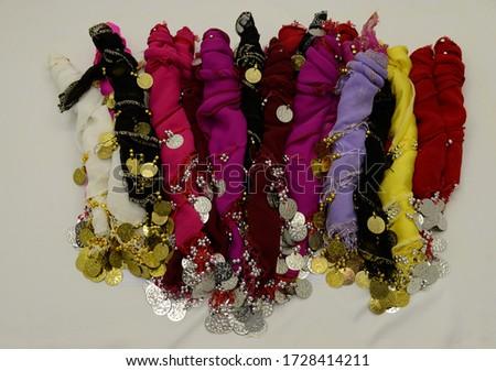 Kalça Süsleme,belly dance hip scarf Stok fotoğraf ©