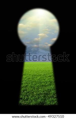 Keyhole Enter in Paradise