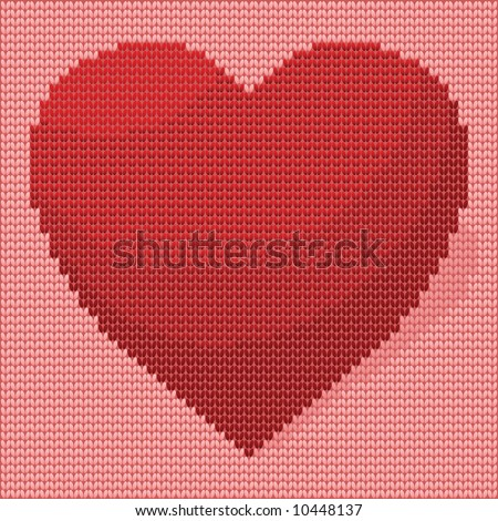 *Knitted Heart Design