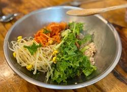 #Korean food, #bibimbab #delicious food, #foodie, #travel, #foodphotography, #instafood, #nature, #yummy, #happy, #food