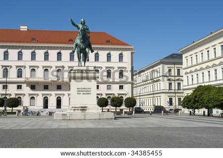"""""""Kurfürst Maximilian"""" in Munich in Germany"""