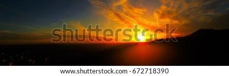 LA sunset #672718390