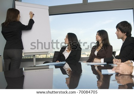 latin business training - stock photo