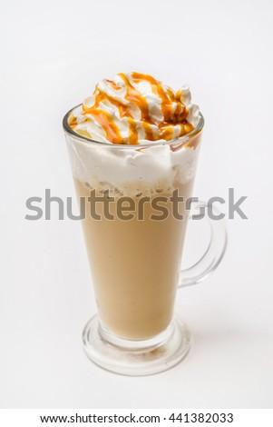 latte macchiato coffee  #441382033