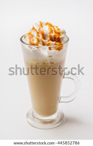 latte macchiato coffee  #445852786