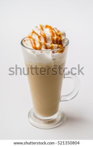 latte macchiato coffee  #521350804