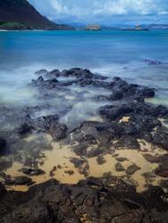 Lave Rocks at the Makapuu Beach