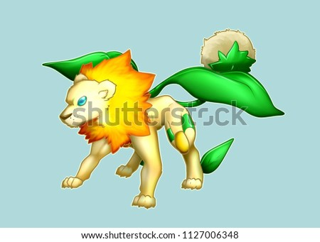 Leon Plant Species Is Based On The Fusion Of A Lions Tooth And
