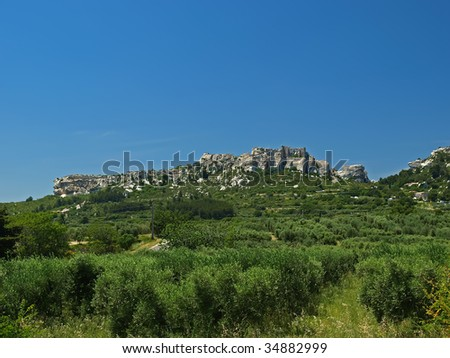 Les Baux-de-Provence is a small and beatiful  village near Saint Remy, in Provence, France