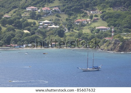 """Les Saintes"" Islands in  Guadeloupe"