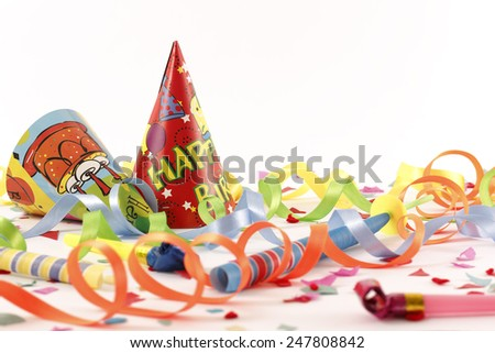 Let\'s party ! - Stock Image  /  Let\'s party ! - Copy Space