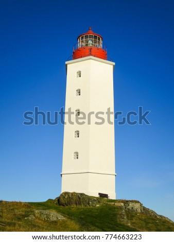 lighthouse on kvitsoy in...