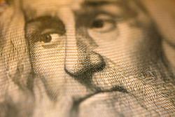 1000 Lire Banknote with Portrait of Leonardo Da Vinci