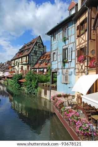 Little Venice,(Petit Venise),Colmar,Alsace,France