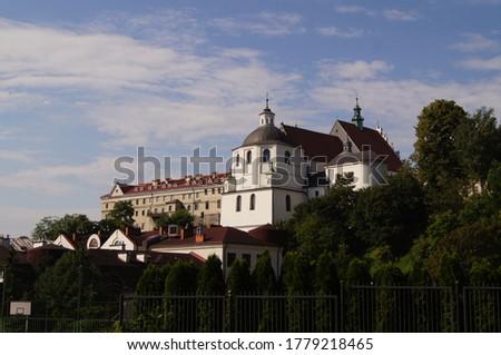 Lublin, Old Town, St. Stanislaus Basilica, Złota 9 street Zdjęcia stock ©