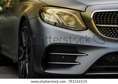 luxury car head lamp