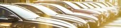 luxury Cars For Sale Stock Lot Row. Car Dealer Inventory. Cars For Sale Stock Lot Row. Car Dealer Inventory. sunset sun rays light. sun beam