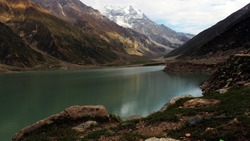 3224 m above from sea level the lake is located above the tree line and is one of the highest lake in northern end of the kaghan valley  near the town of naran in pakiatan known as saiful maluk