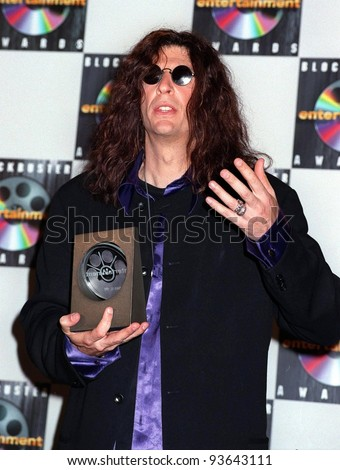 10MAR98:  Radio & TV personality HOWARD STERN at the Blockbuster Entertainment Awards in Hollywood.