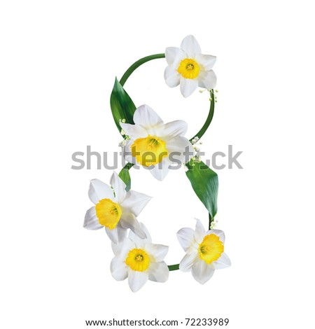 8 march - stock photo