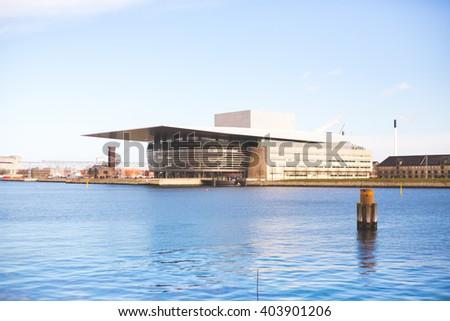 2016, March Copenhagen, Denmark: Opera House view #403901206