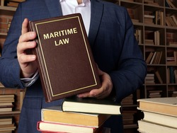MARITIME LAW book in the hands of a jurist. Maritime law, also known asadmiralty law, is a body oflaws, conventions.