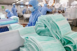 Mask factory for medical use