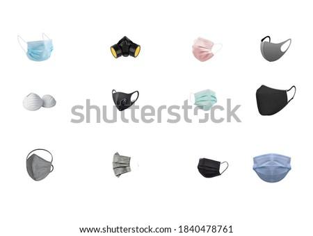 mask types, coronavirus,  epidemic, controlled social distance, pandemic, mask,