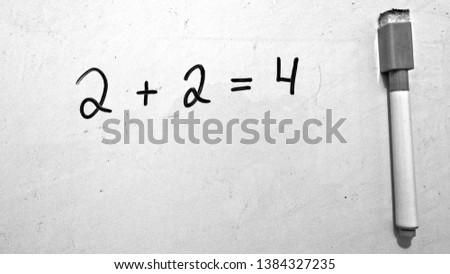 Math 2 + 2 = 4 #1384327235