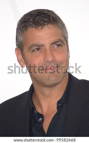 13MAY2000:  Actor GEORGE CLOONEY at the Cannes Film Festival to promote his new movie O Brother Where Art Thou.  Paul Smith / Featureflash