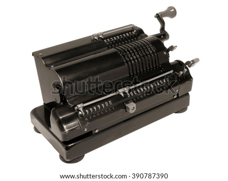 Mechanical calculator                               #390787390
