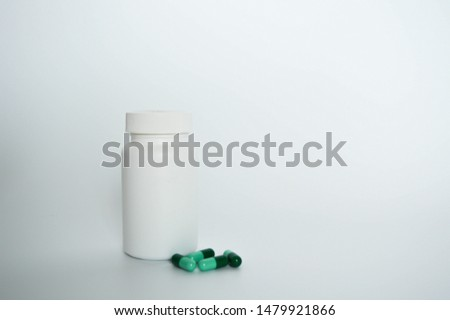 medical medicine box with pills  #1479921866