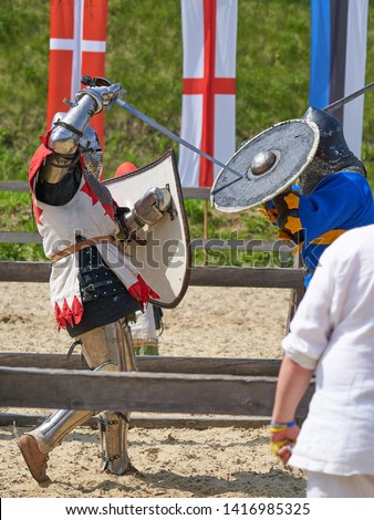 Medieval tournament knights fights recon                         #1416985325