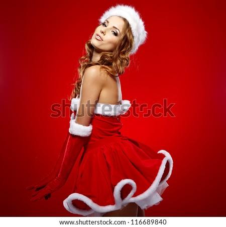 Merry Christmas Concept - stock photo
