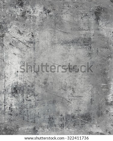Metal Scratched Texture Background