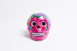 mexican decorative skull of day of the dead