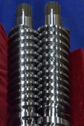 Mixing screw for plastic injection extrude machine