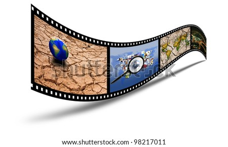 35mm 3d show the film and the drought.