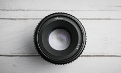 50mm f 1.8 D Prime Portrait lens for  Nikon DSLR Cameras.
