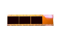 (35 mm.) film collections frame.With black space.film camera.