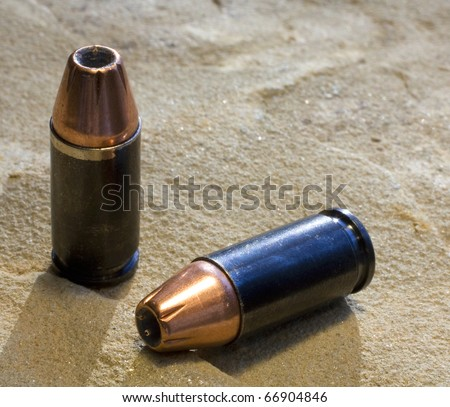 9 mm hollow point self defense rounds in copper