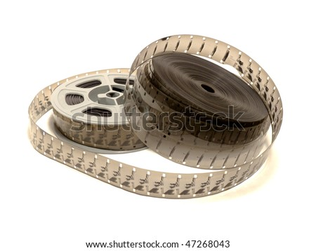 16 mm / 30 meters (100 ft) motion picture film and reel