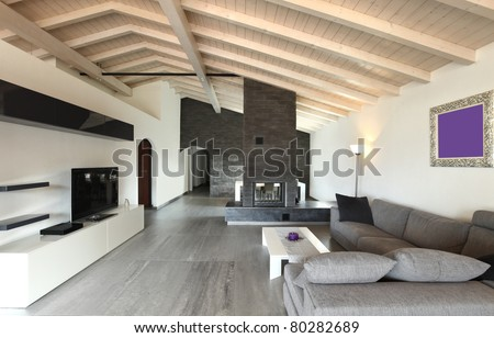 modern architecture contemporary interior large livingroom