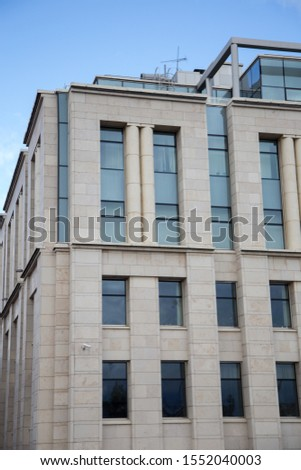Modern building, office building, building