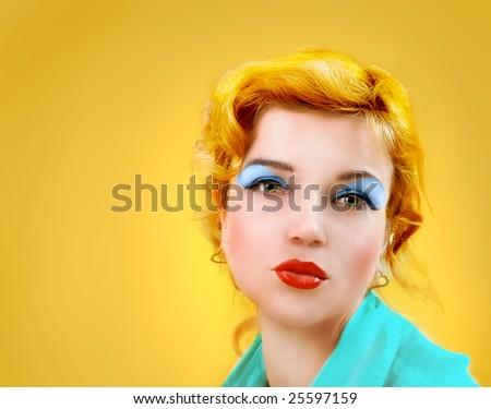 """""""Monroe"""" style woman"""