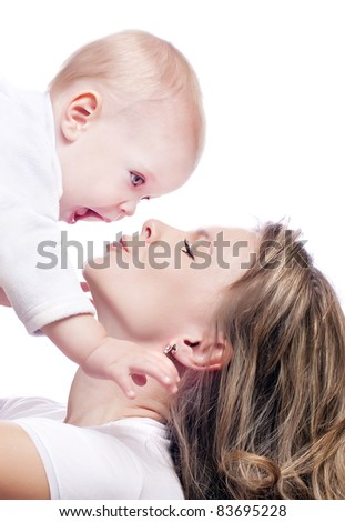 mother and baby-boy