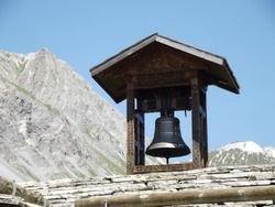 mountain church of the french alps calm power and grandeur