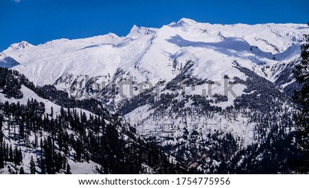 Photo of          MOUNTAIN FULL OF SNOW FULL HD